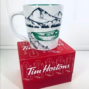 Tim Horton's 2018 Ceramic Mug Cup CANOE NEW IN BOX